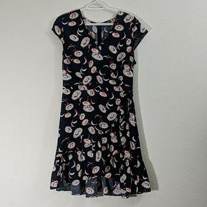 J Crew Mercantile Flower Print Dress